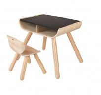 8703 Table & Chair - Black